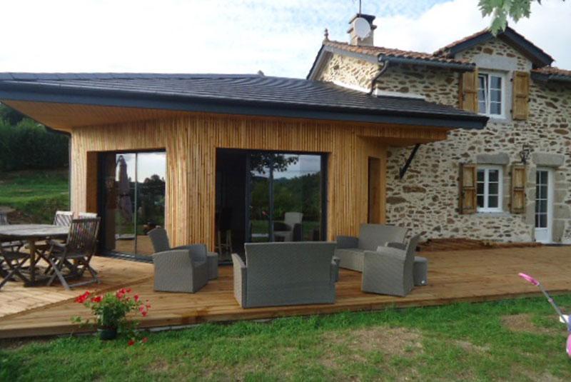 Extension d'habitation en Aveyron à La Primaube - MGB Im'mo Concept