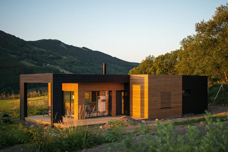 Maison ossature bois en Aveyron à La Primaube - MGB Im'mo Concept